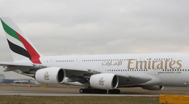 The Emirates airline has launched a daily service between Dubai and Dublin