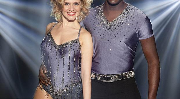 Andy Akinwolere got the boot from Dancing On Ice in the first show