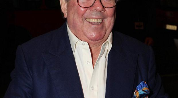 Ronnie Corbett became ill as he celebrated being awarded his CBE