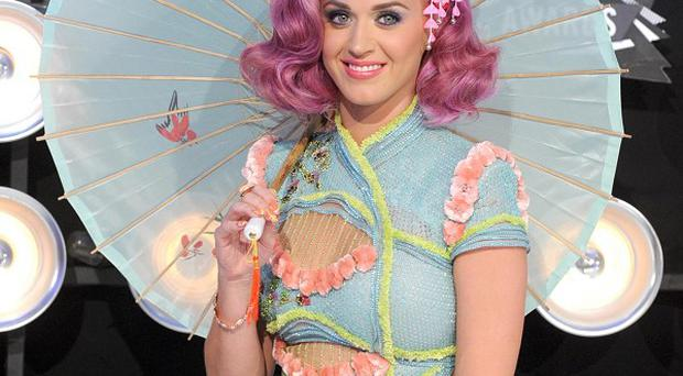 Katy Perry is nominated for seven People's Choice gongs