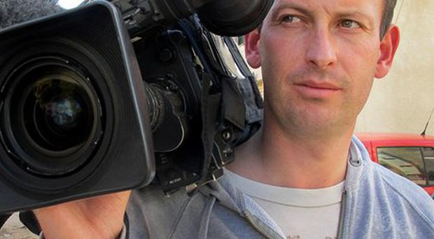 French television cameraman Gilles Jacquierwho was killed while filiming the the troubled Syrian city of Homs (AP)