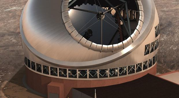 The Thirty Meter Telescope will be the world's largest when it's finished in 2018 (AP/Thirty Meter Telescope)