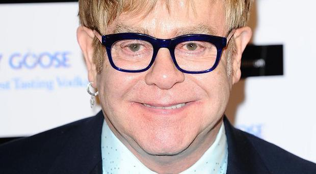 Sir Elton John will be among the stars at the Golden Globes