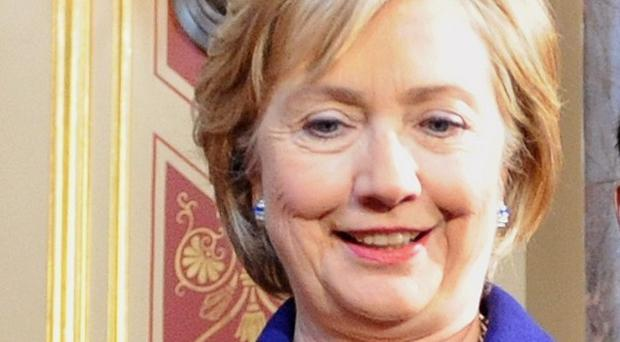 US Secretary of State Hillary Clinton has appeared to acknowledge US efforts to jump-start a peace process with Islamic militants