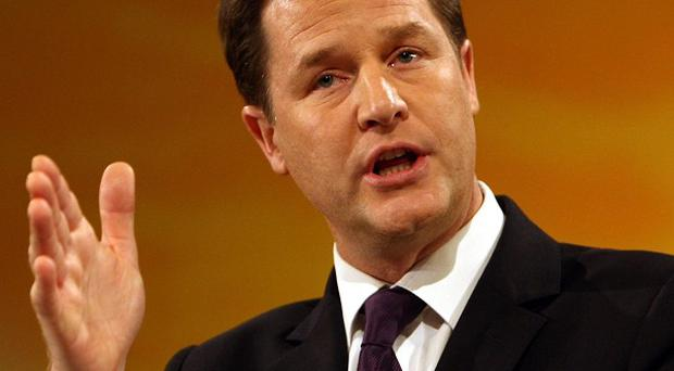 Deputy Prime Minister Nick Clegg is making his first official visit to Ireland
