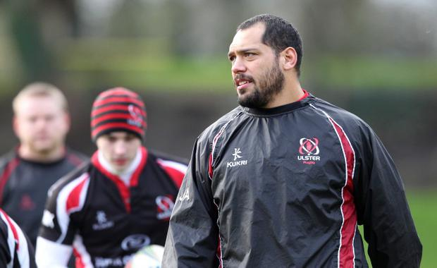 John Afoa has been immense at No 3 for Ulster