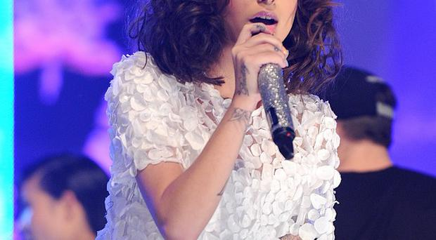 Cher Lloyd recently denied that she was engaged