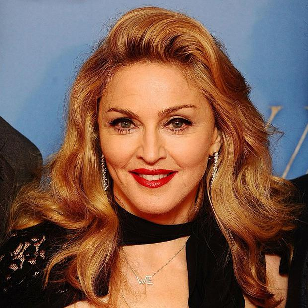 Madonna arriving at the premiere of W.E. held at the Odeon Kensington, London