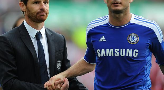 Andre Villas-Boas (left) and Frank Lampard