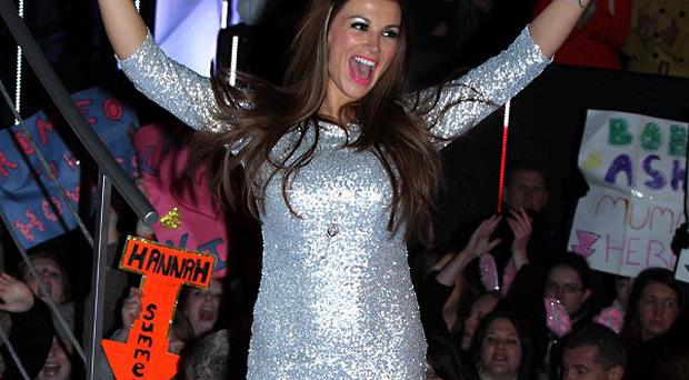 Natasha Giggs is evicted from the Celebrity Big Brother House