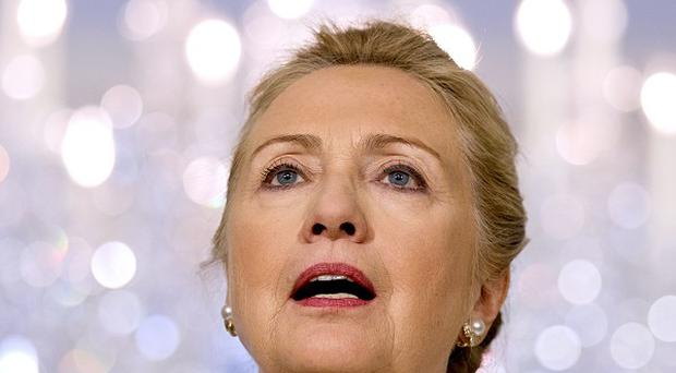 Hillary Clinton urged the Burmese government to release all remaining political prisoners (AP/J Scott Applewhite)