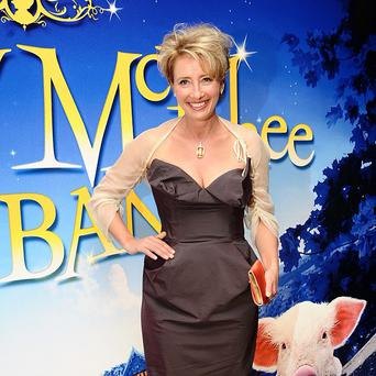 Emma Thompson said she was mistaken for a naked man