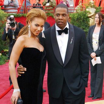 Beyonce Knowles and Jay Z have been celebrating new arrival Blue Ivy