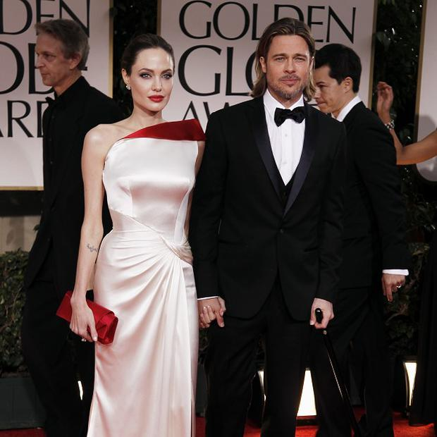 Angelina Jolie and Brad Pitt both had Golden Globe nominations