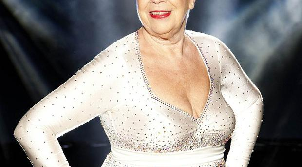 Laila Morse has been voted off Dancing On Ice