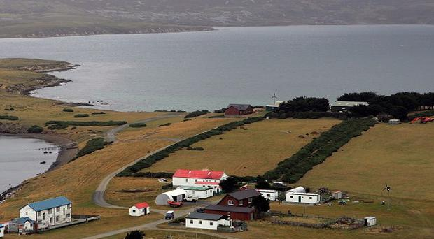 Argentina and Britain are engaged in a diplomatic row over the Falkland Islands