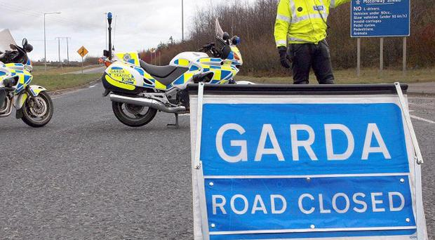 A 39-year-old man was killed when his car veered into a tree at Grandard, Co Longford