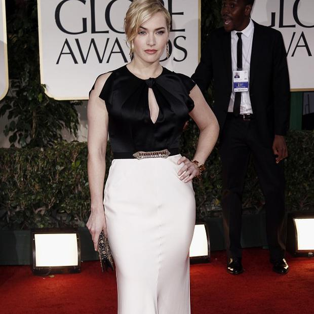 Kate Winslet won a Golden Globe for her role in Mildred Pierce