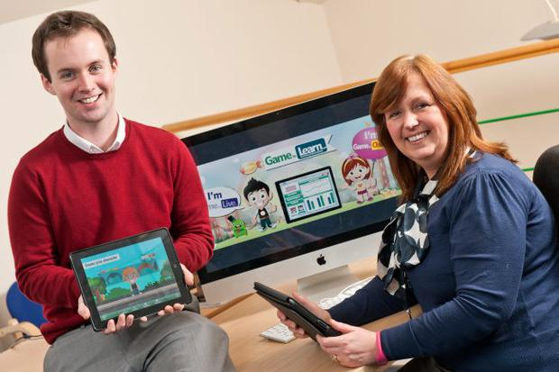 Omnisoft Operations manager Shirlee Beggs was joined by Peadar Loughrey, researcher for Game to Learn.