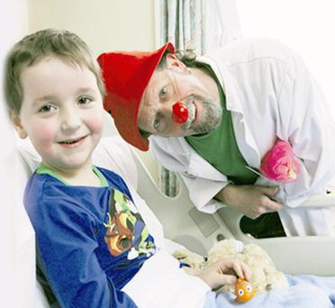 Fun and frolics: NI ClownDoctors visit thousands of sick children every year