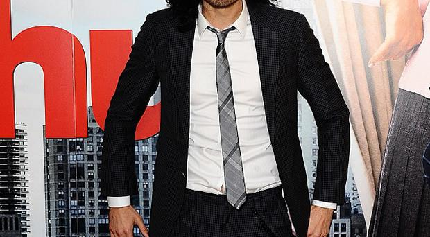 Russell Brand didn't want to talk about his marriage split as he promoted his tour