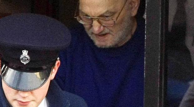 The authorities hired a private plane for serial child killer Robert Black's trial