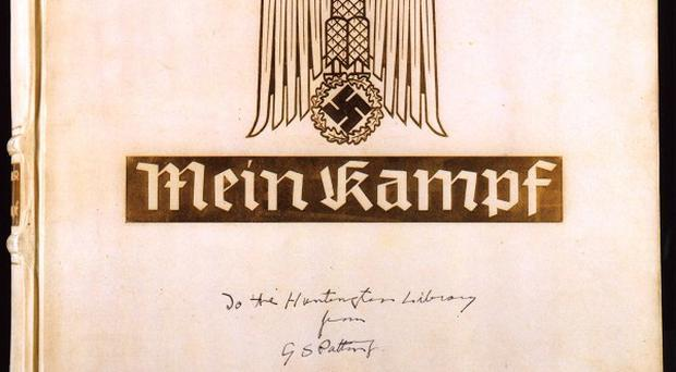 A row has blown up over a magazine that aims to publish exerpts of Adolf Hitler's Mein Kampf