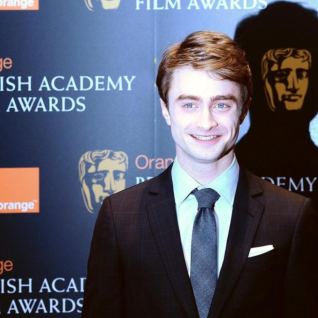 Daniel Radcliffe at the Bafta nominations event