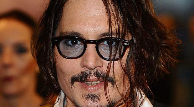 Johnny Depp has been to The Tricks' gigs in disguise