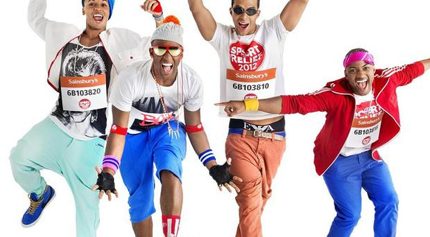 JLS are the stars of this year's Sport Relief single