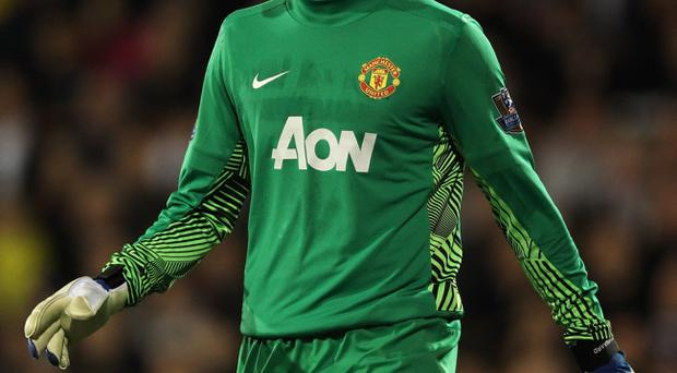 Anders Lindegaard hopes to hold on to Manchester United's No 1 shirt