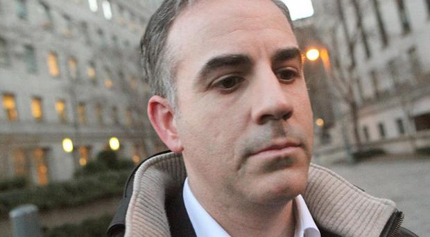 Level Global Investors co-founder Anthony Chiasson leaves Manhattan Federal Court in New York (AP)