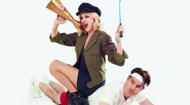 Fearne Cotton and Jimmy Carr are supporting this year's Sport Relief
