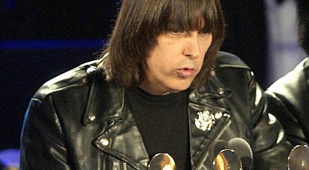 Johnny Ramone began writing the book when he got ill