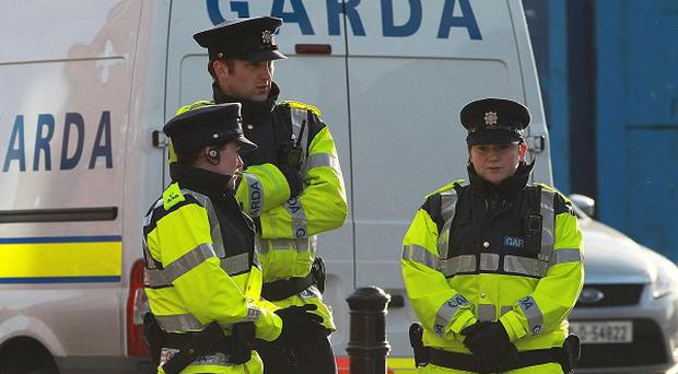 A man has been found with a number of stab wounds outside a house in Ballinacurra Weston