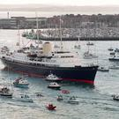 The previous Royal Yacht Britannia was decommissioned in 1997