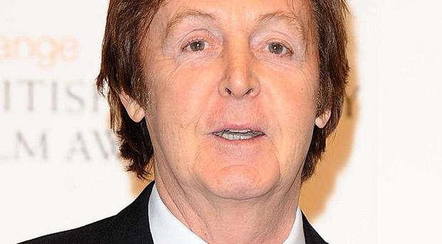 Sir Paul McCartney is promoting his new album, Kisses On The Bottom