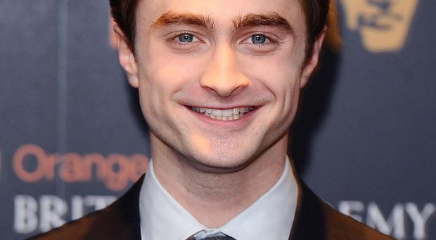 Daniel Radcliffe didn't really think about making the transition from teen role to adult one