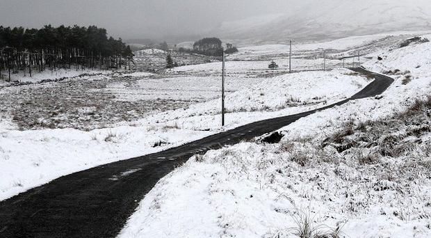 Snow and ice have led to major problems on Scotland's roads