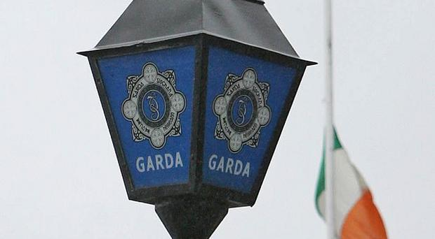 Gardai are appealing for information after masked raiders stole money from a cash delivery van in Dublin