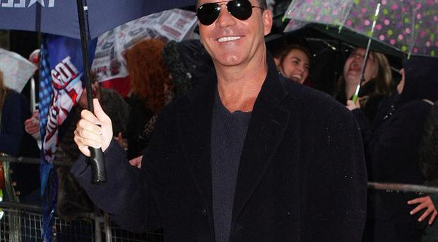 Simon Cowell arrives at the Lowry Theatre in Salford for the Britain's Got Talent auditions