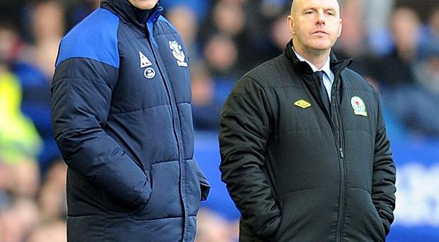 David Moyes (left) and Steve Kean