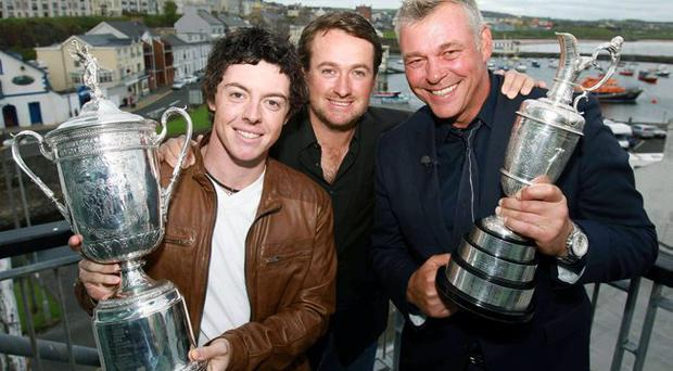 Heroes: our golf champions McIlroy, McDowell and Clarke