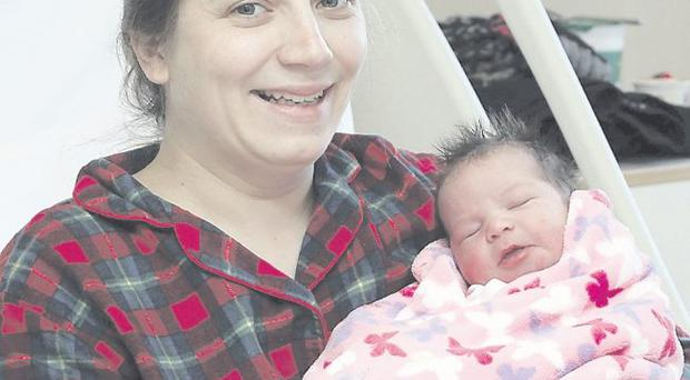 Joanne Bickerstaff with her daughter Molly <p><b>To send us your Baby Pics <a href=