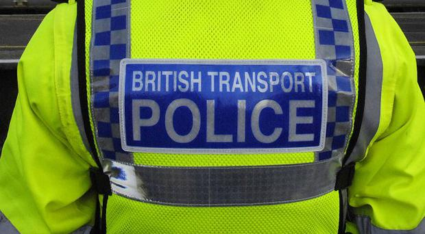 British Transport Police have arrested a man, believed to be a Chelsea supporter, on suspicion of racial abuse