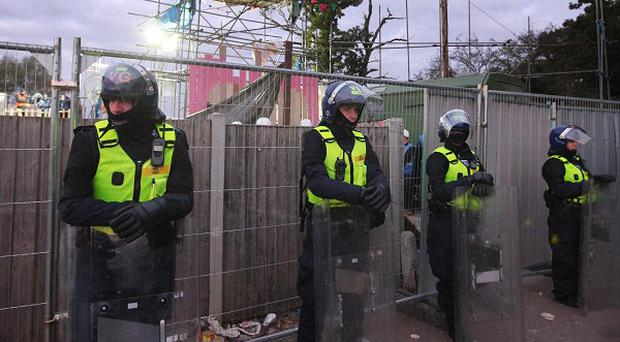The clearance operation at Dale Farm cost Essex Police more than two million pounds
