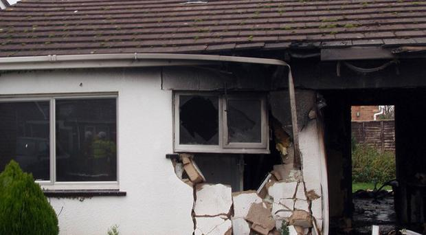 A fuel tanker crashed into a bungalow in Wool, Dorset, a court has been told