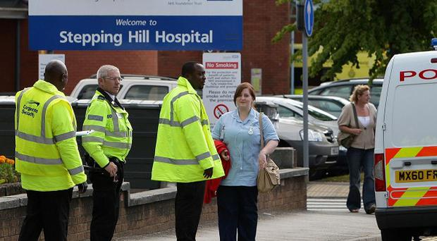 Police are investigating the deaths of six patients at Stepping Hill hospital