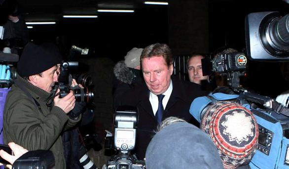 Harry Redknapp leaves Southwark Crown Court, London, where he is on trial accused of tax evasion.