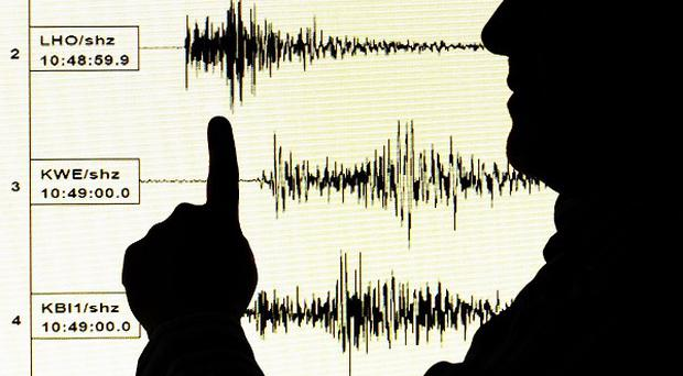 An earthquake struck 472 miles south of Fiji, at a depth of 362 miles
